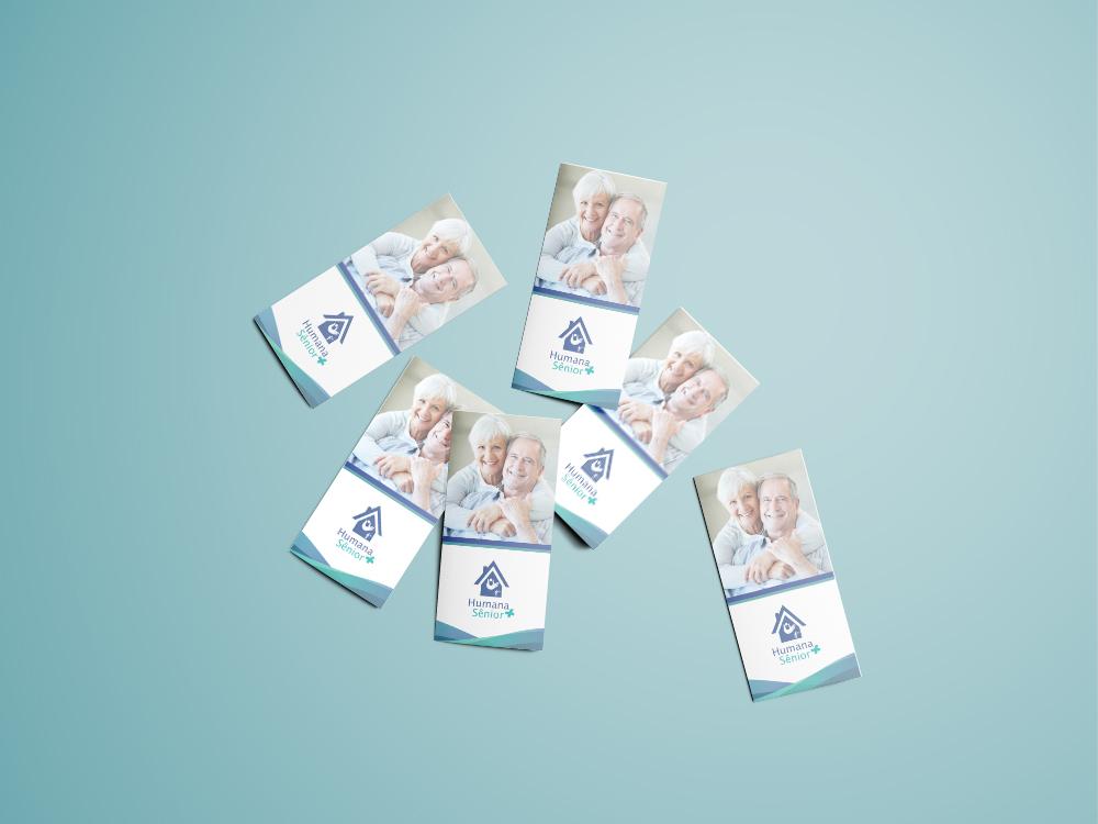 Tri-Fold Brochure Mockup - Free Vers3ion