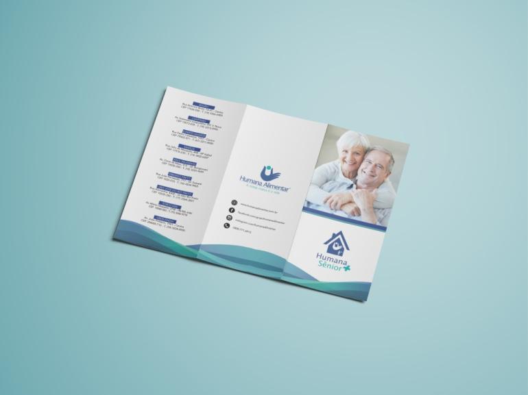 Tri-Fold Brochure Mockup - Free Vers6ion