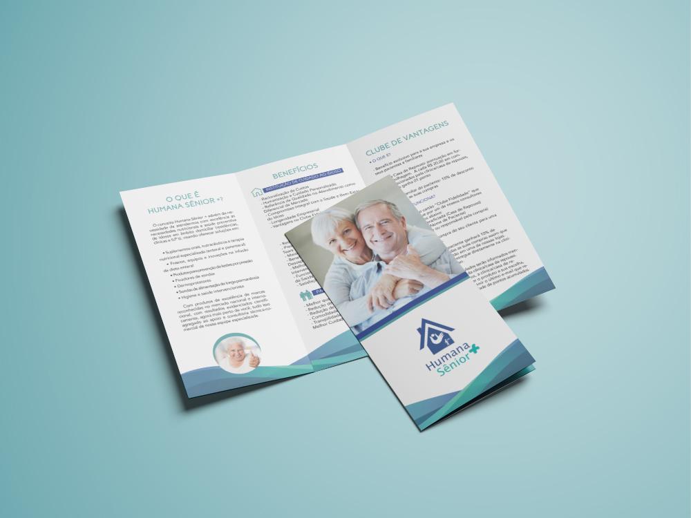 Tri-Fold Brochure Mockup - Free Version