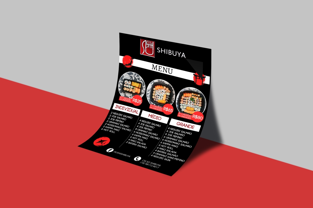 Free PSD A4 Paper MockUp For Flyers-2